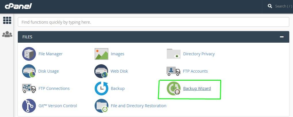 backup data hosting