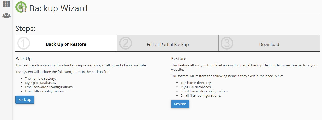 backup data hosting