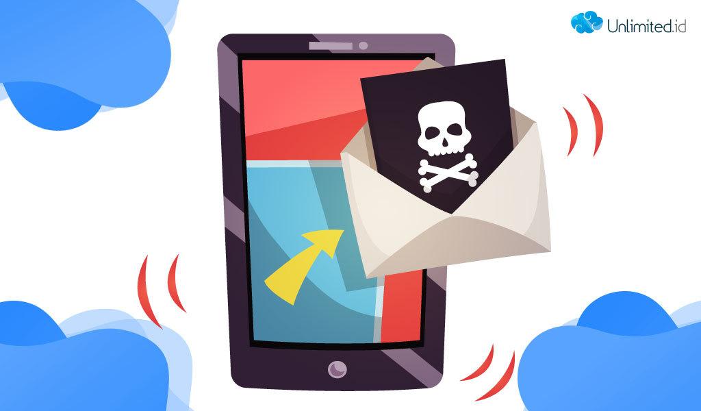 Mencegah email masuk