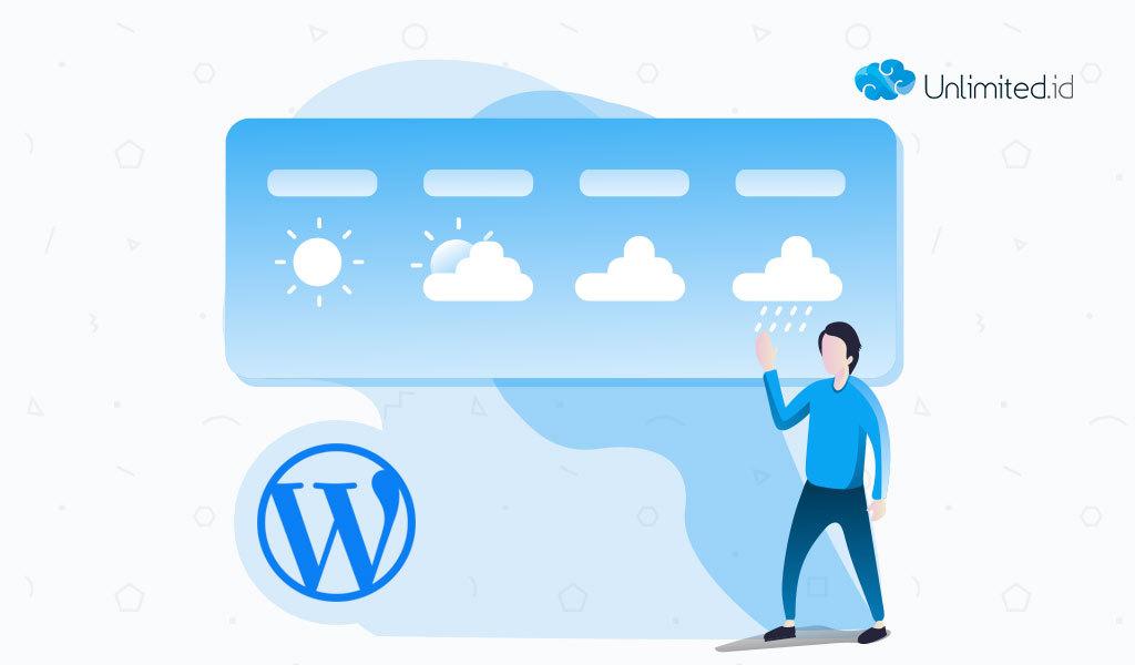 Ketahui Ramalan Cuaca Dengan Plugin Cuaca Terbaik di WordPress