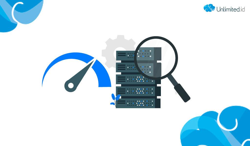 cara memeriksa kecepatan server